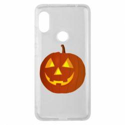 Чохол для Xiaomi Redmi Note Pro 6 Тыква Halloween