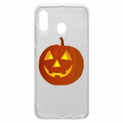Чохол для Samsung A20 Тыква Halloween