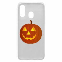 Чохол для Samsung A40 Тыква Halloween