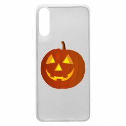 Чохол для Samsung A70 Тыква Halloween