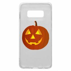 Чохол для Samsung S10e Тыква Halloween