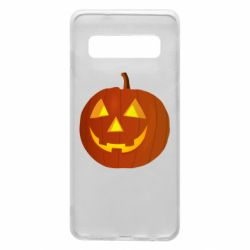 Чохол для Samsung S10 Тыква Halloween