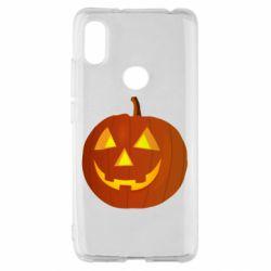 Чохол для Xiaomi Redmi S2 Тыква Halloween