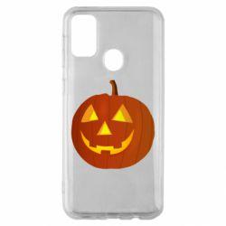 Чохол для Samsung M30s Тыква Halloween