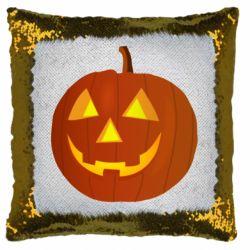 Подушка-хамелеон Тыква Halloween