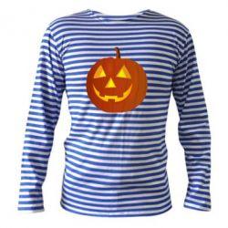 Тельняшка с длинным рукавом Тыква Halloween - FatLine