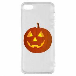 Чохол для iphone 5/5S/SE Тыква Halloween
