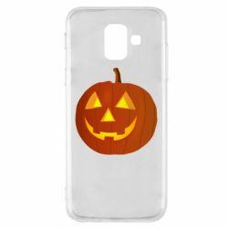 Чохол для Samsung A6 2018 Тыква Halloween