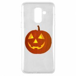 Чохол для Samsung A6+ 2018 Тыква Halloween
