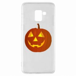 Чохол для Samsung A8+ 2018 Тыква Halloween