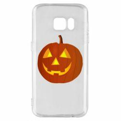 Чохол для Samsung S7 Тыква Halloween