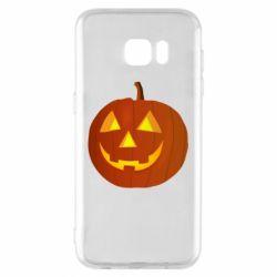 Чохол для Samsung S7 EDGE Тыква Halloween