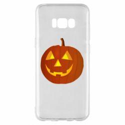 Чохол для Samsung S8+ Тыква Halloween