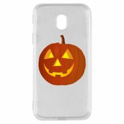 Чохол для Samsung J3 2017 Тыква Halloween