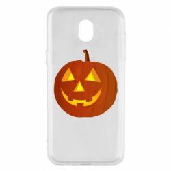 Чохол для Samsung J5 2017 Тыква Halloween