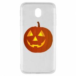 Чохол для Samsung J7 2017 Тыква Halloween