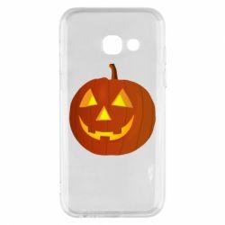 Чохол для Samsung A3 2017 Тыква Halloween