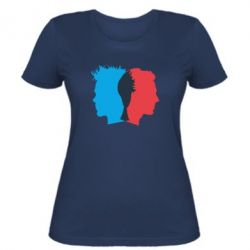 Женская футболка Tyler Durden & Jack - FatLine
