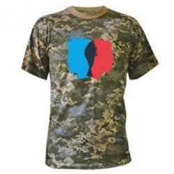 Камуфляжная футболка Tyler Durden & Jack - FatLine