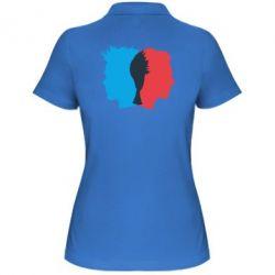 Женская футболка поло Tyler Durden & Jack - FatLine
