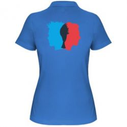Женская футболка поло Tyler Durden & Jack