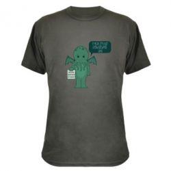 Камуфляжная футболка У меня труднопроизносимое имя - FatLine