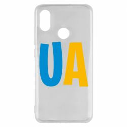 Чехол для Xiaomi Mi8 UA Blue and yellow