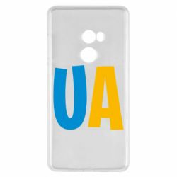 Чехол для Xiaomi Mi Mix 2 UA Blue and yellow