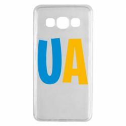 Чехол для Samsung A3 2015 UA Blue and yellow
