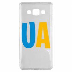 Чехол для Samsung A5 2015 UA Blue and yellow