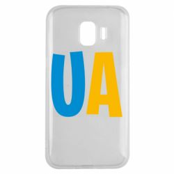 Чехол для Samsung J2 2018 UA Blue and yellow