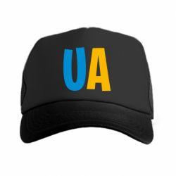 Кепка-тракер UA Blue and yellow