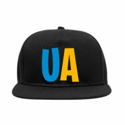 Снепбек UA Blue and yellow