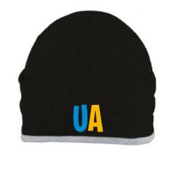 Шапка UA Blue and yellow
