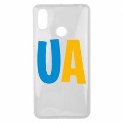 Чехол для Xiaomi Mi Max 3 UA Blue and yellow