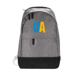 Городской рюкзак UA Blue and yellow