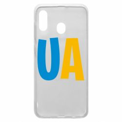 Чехол для Samsung A30 UA Blue and yellow