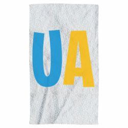 Полотенце UA Blue and yellow