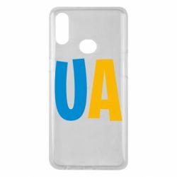 Чехол для Samsung A10s UA Blue and yellow