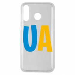 Чехол для Samsung M30 UA Blue and yellow