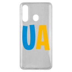 Чехол для Samsung M40 UA Blue and yellow
