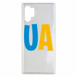 Чехол для Samsung Note 10 Plus UA Blue and yellow
