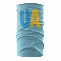 Бандана-труба UA Blue and yellow