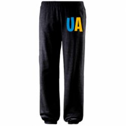 Штаны UA Blue and yellow