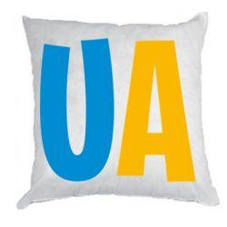 Подушка UA Blue and yellow