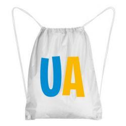 Рюкзак-мешок UA Blue and yellow