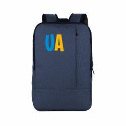 Рюкзак для ноутбука UA Blue and yellow