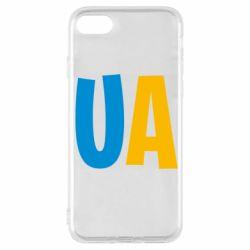 Чехол для iPhone 7 UA Blue and yellow