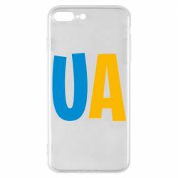 Чехол для iPhone 7 Plus UA Blue and yellow