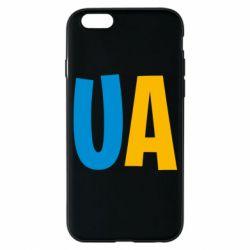 Чехол для iPhone 6/6S UA Blue and yellow